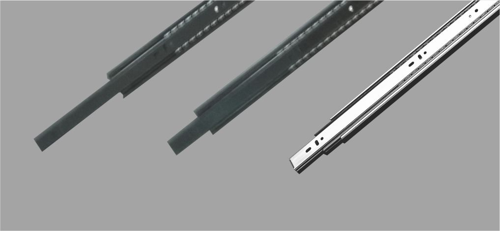 What kind of metal is best for telescopic drawer channels?